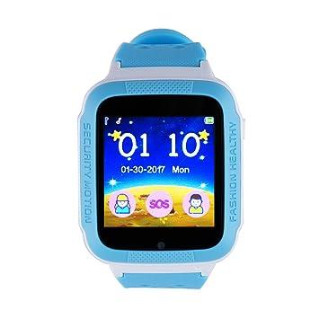 Vinteky® LAQ15 Los niños reloj inteligente Rastreador niños reloj de pulsera teléfono SIM anti-