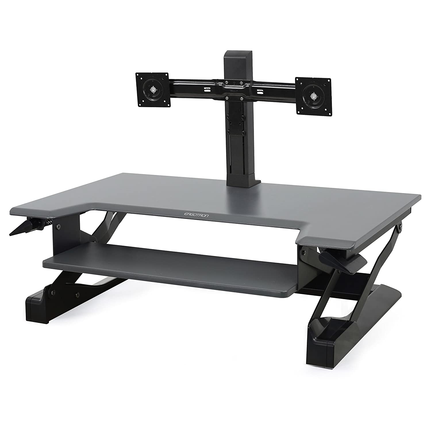 Ergotron WorkFit Dual Monitor Kit Stand SYNNEX Canada Ltd 97-904