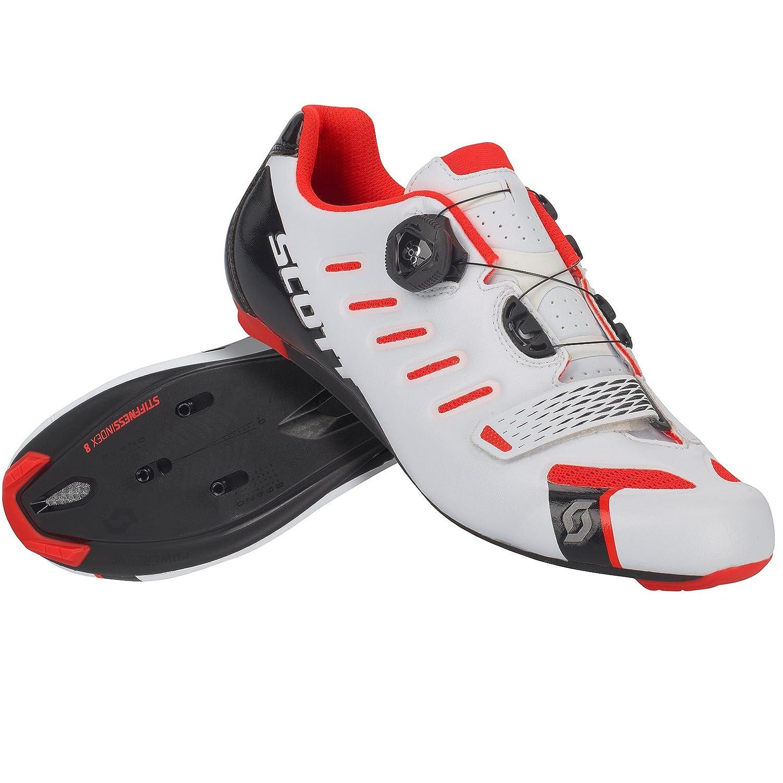 Scott Scott Scott Road Team Boa Rennrad Fahrrad Schuhe weiß rot 2018 a75030