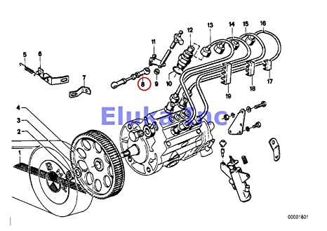 Amazon com: BMW Genuine MECHANICAL FUEL INJECTION Connection