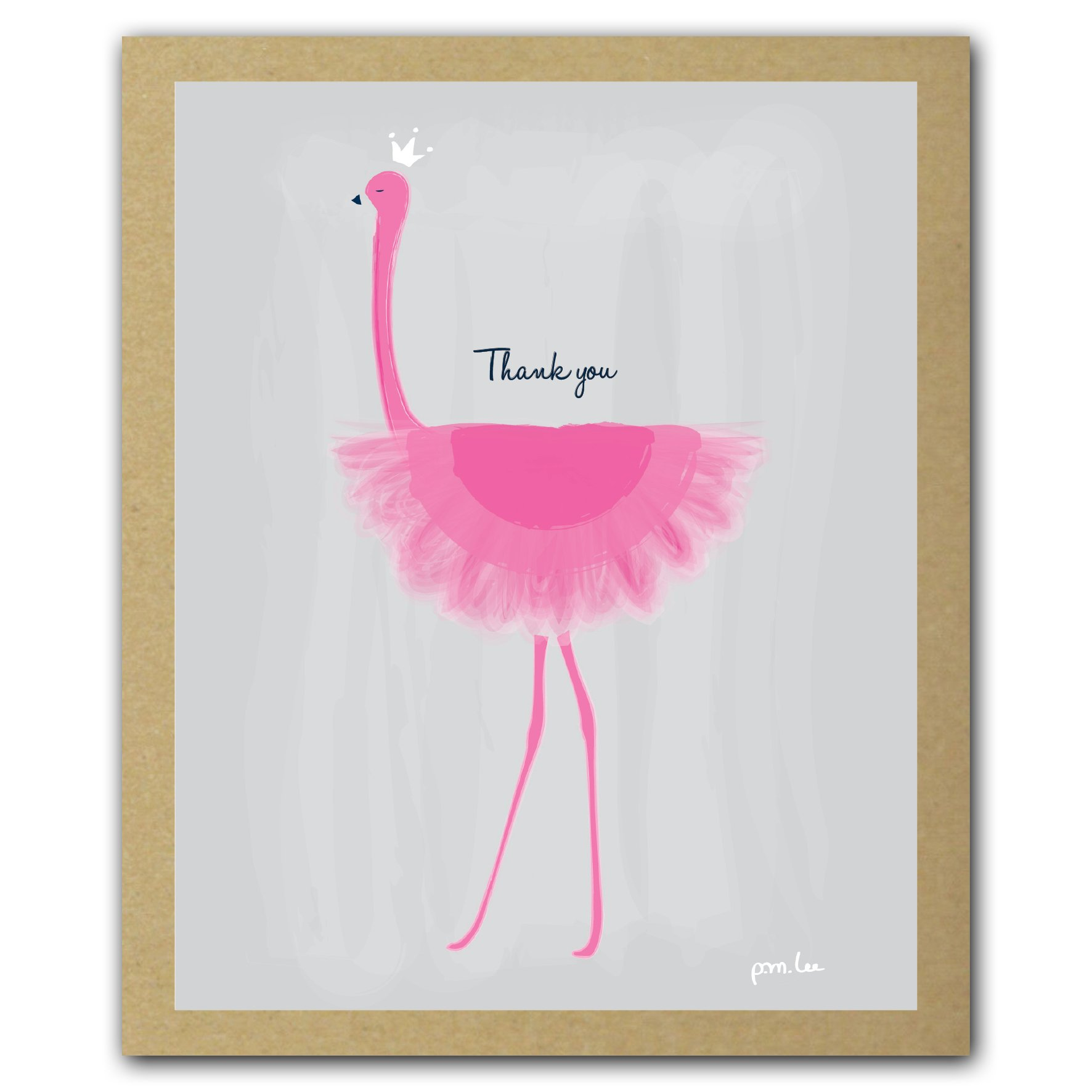 Her Majesty (Pink Flamingo) GreenThanks, Thank You Cards Boxed Set ebook