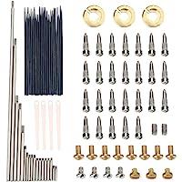 Vbestlife Kit de Mantenimiento y reparación Alto Sax, Kit de Mantenimiento de Instrumentos Musicales de Viento para…