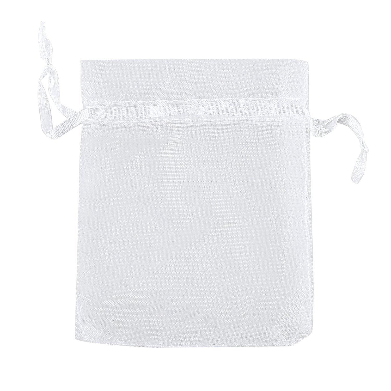 Amazon.com: Ankirol - Bolsas de organza con cordón, 50 ...