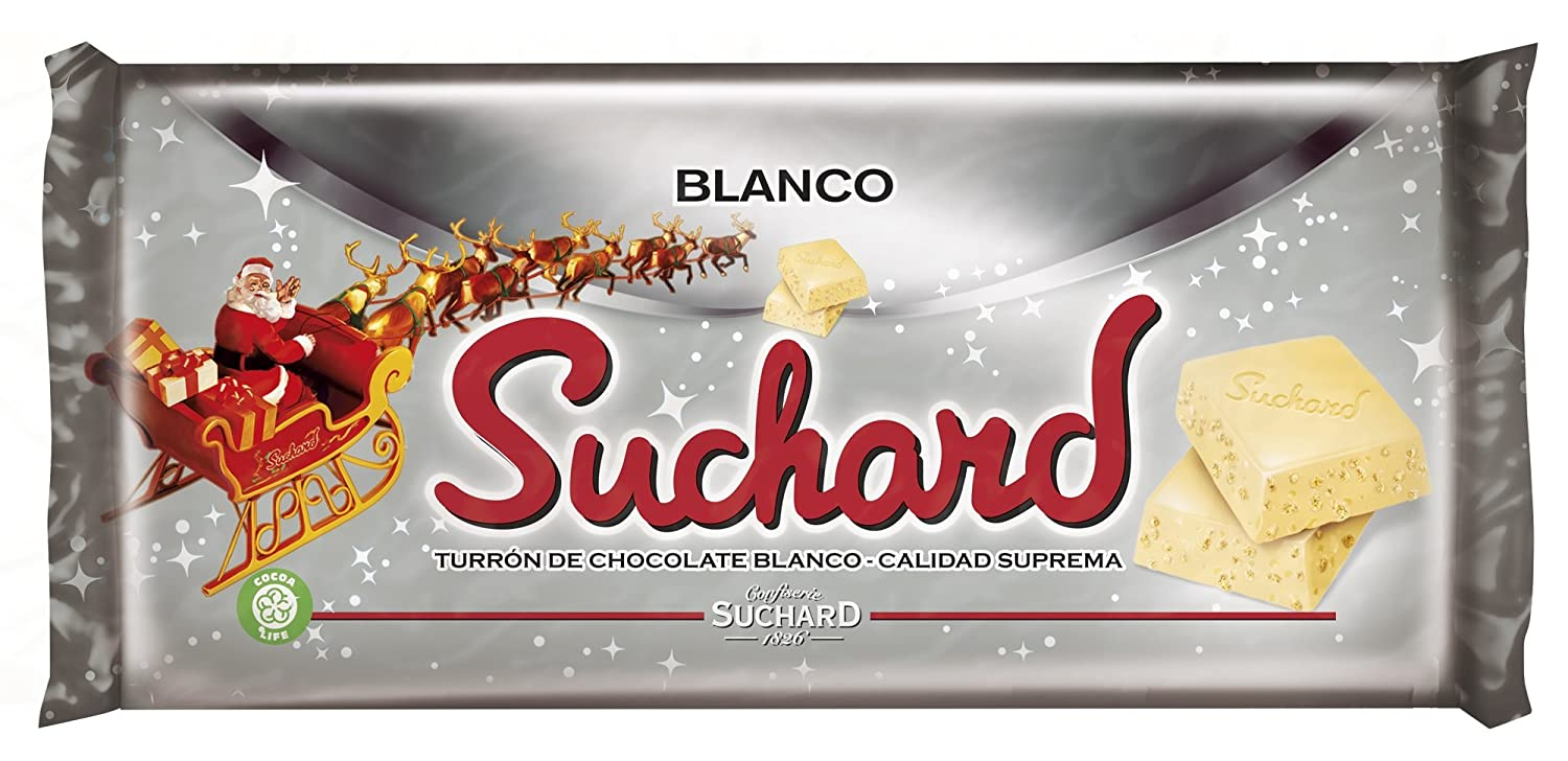 Suchard Turrón Chocolate Blanco - 260 g: Amazon.es: Amazon ...