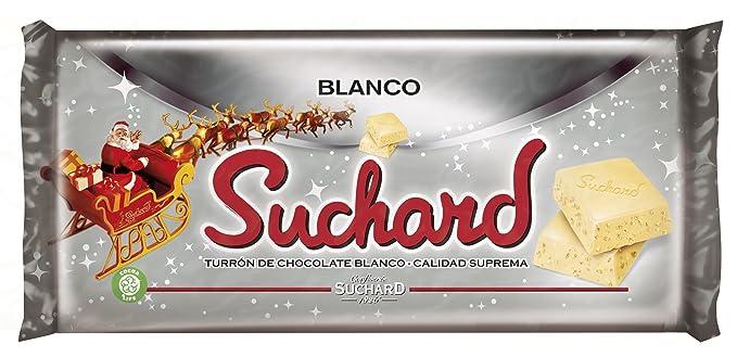Suchard - Turrón Chocolate Blanco, 260 g
