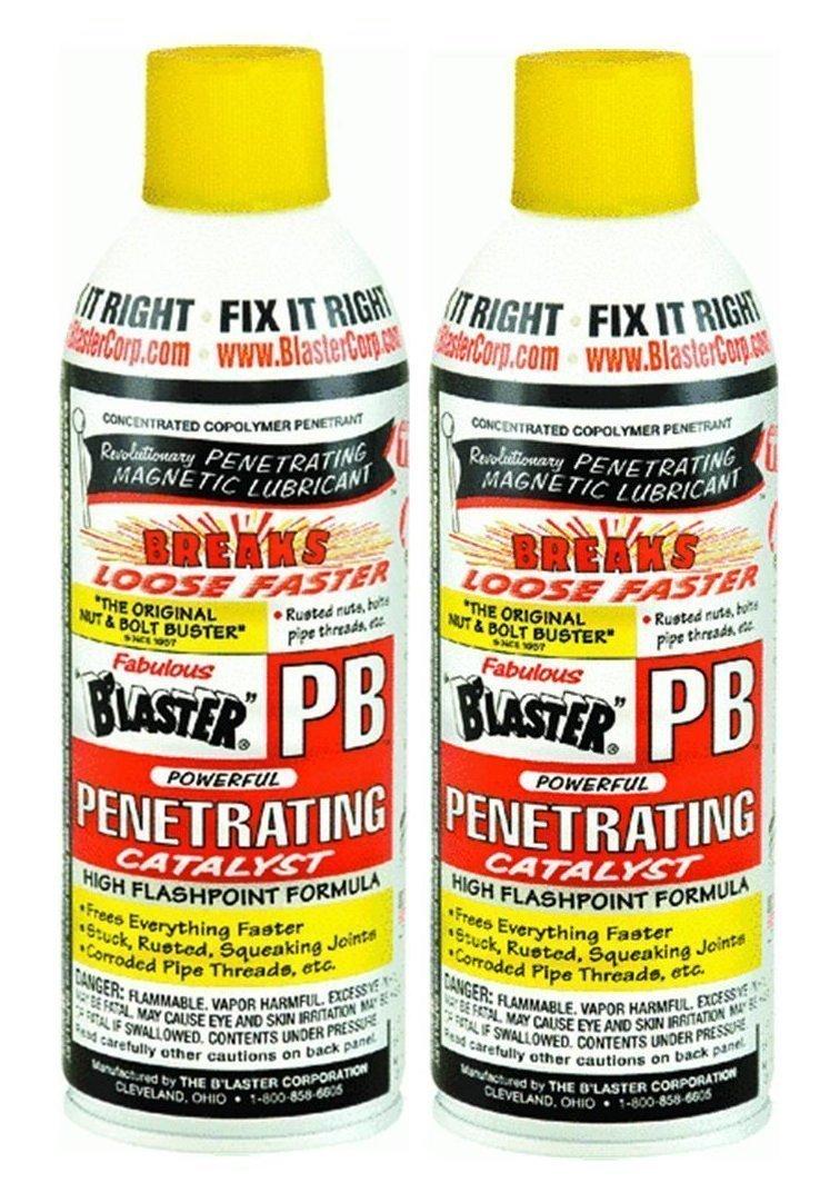 B'laster 16-PB Penetrating Catalyst 11-Ounces (2 Cans)