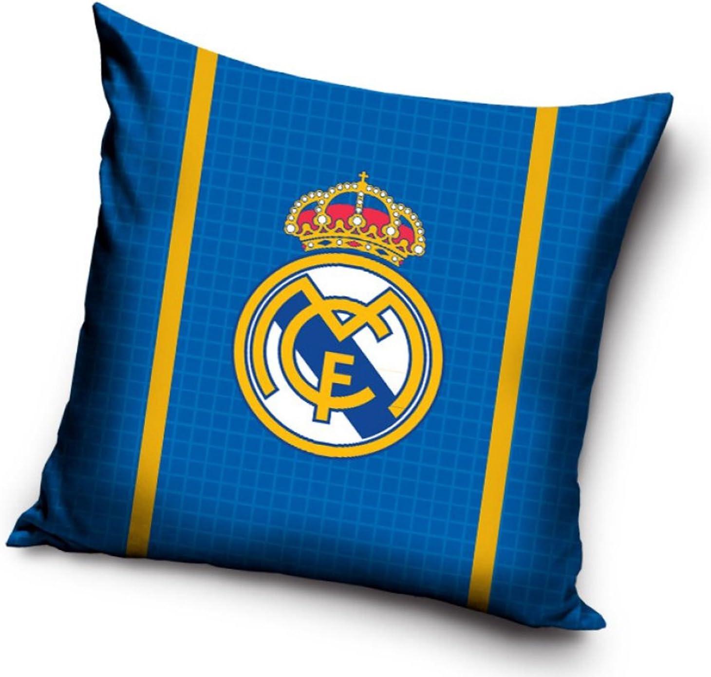 Coussin R/éal Madrid complet housse + rembourrage
