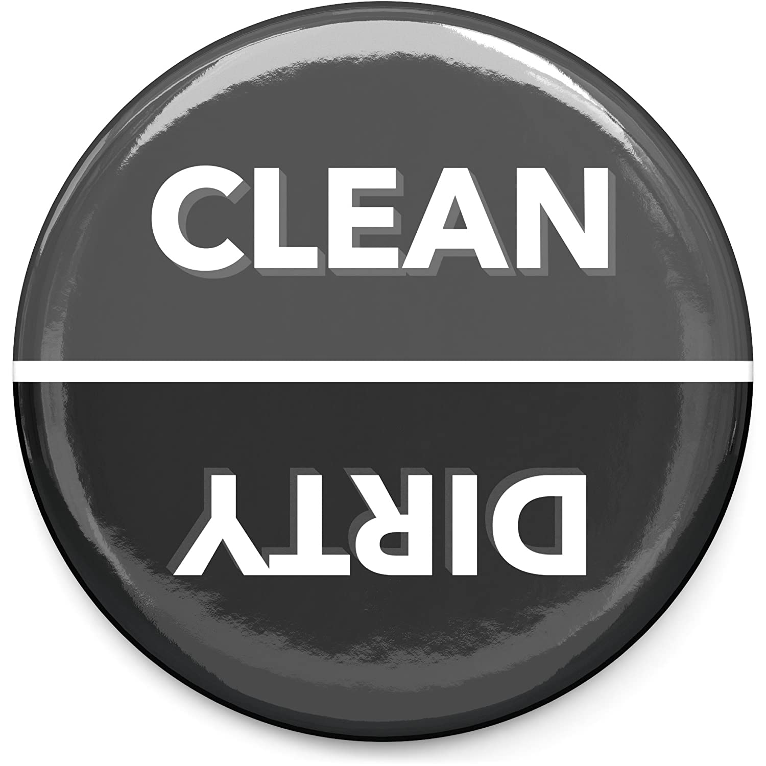 "3"" inch Veemoh Clean and Dirty Dishwasher Magnet & indicator sign"