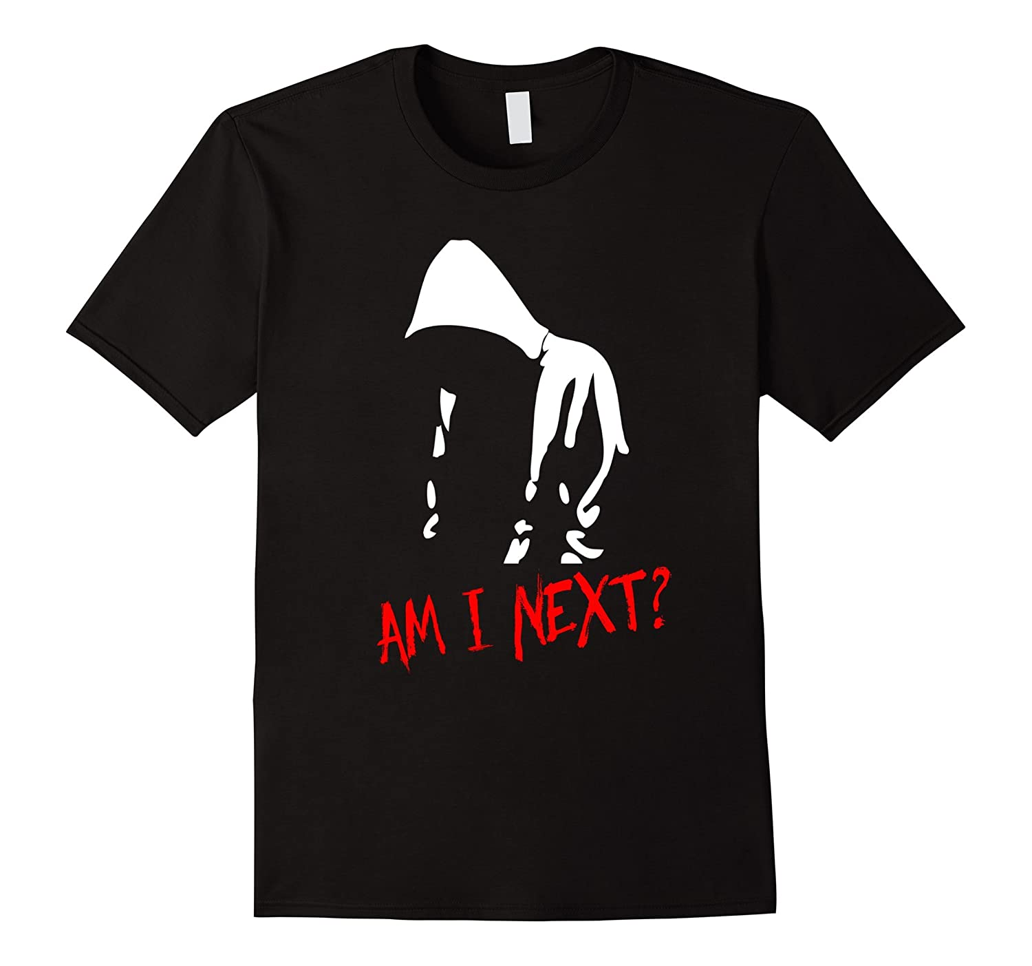 Am I Next T-Shirt Black Lives Matter Graphic Tee-CL