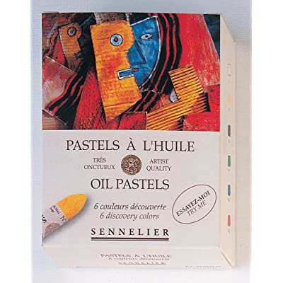Sennelier Oil Pastel Discovery Set of 6: Arts, Crafts & Sewing