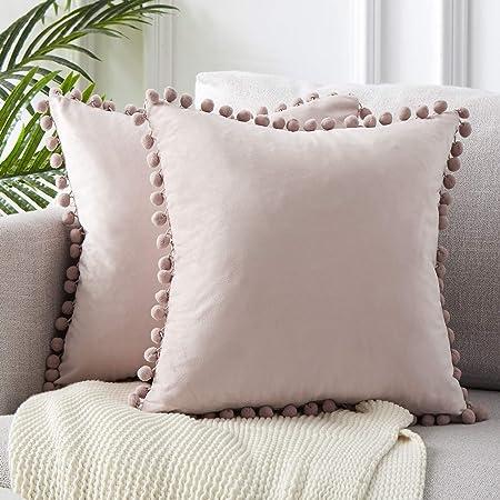 Embalaje: Incluye 2 fundas de cojines de 50x50cm, no incluye almohadas. Tambien adecuado para el núc