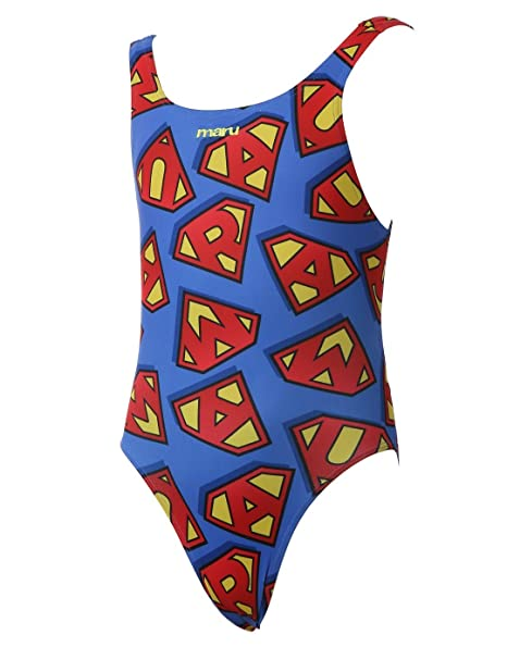 9dba2ffabe8a4 Image Unavailable. Image not available for. Color  Maru Captain Girls  Swimsuit 30