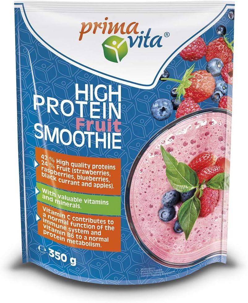 Primavita - Batido de fruta con un alto contenido en proteína, 350 g (7 raciones)