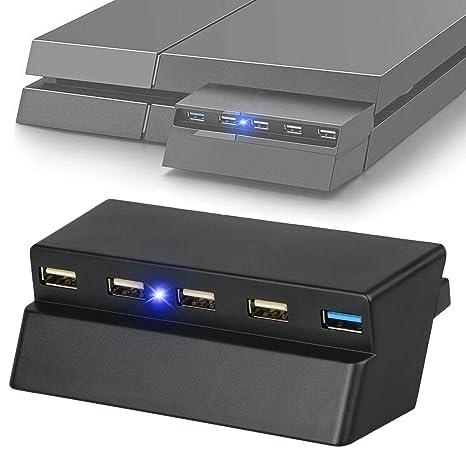 Amazon.com: EEEKit USB Hub, 5 Puertos USB 3.0 2.0 Alta ...