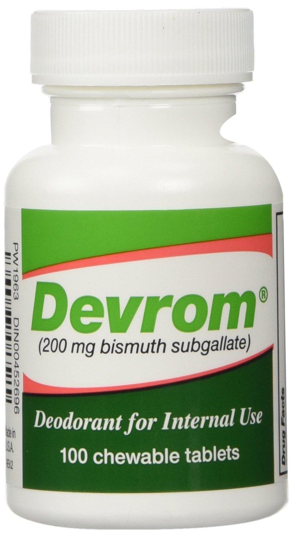 Devrom chewable tablets