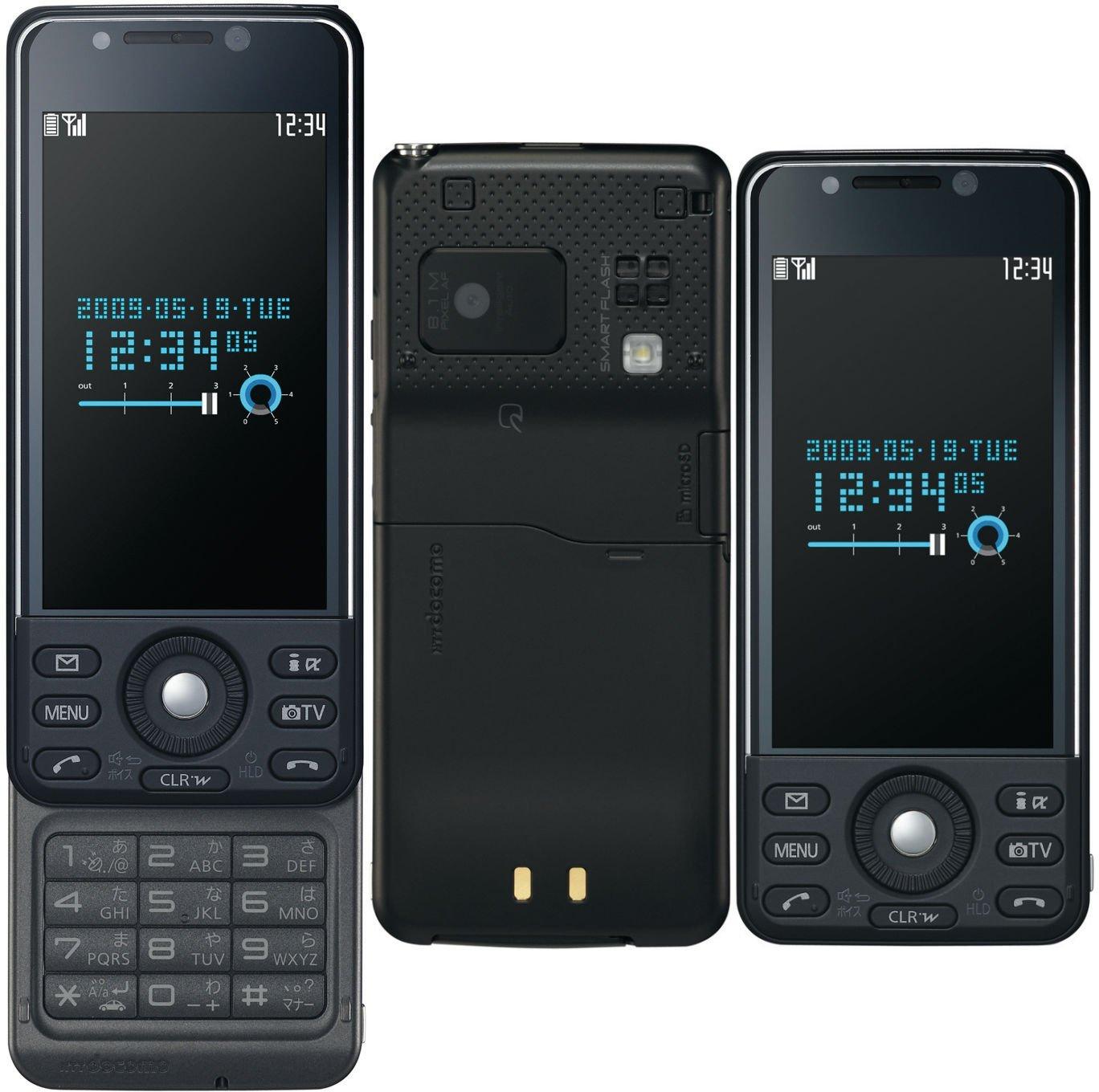 P-08A マットブラック 携帯電話 白ロム ドコモ docomo   B004V23DMK