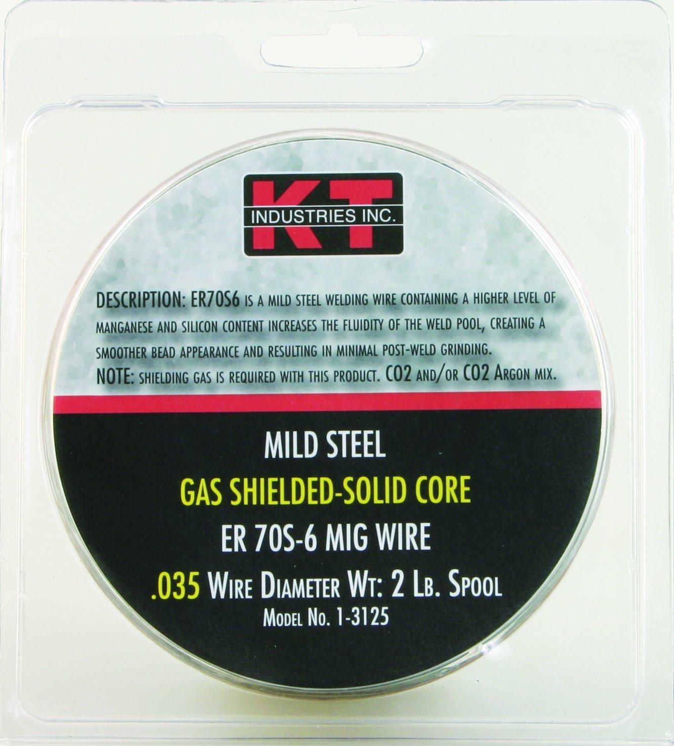 K-T Industries 70S-6 0. 035 Mig Wire, 2-pound: Amazon.in: Car ...