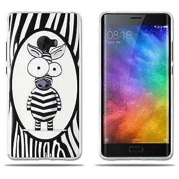 fubaoda Funda Xiaomi Note 2, Simpático Cebra de Dibujos ...