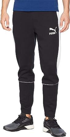 784c478a32ee Amazon.com  PUMA Men s Retro Pants DK Puma Black Large 30  Clothing