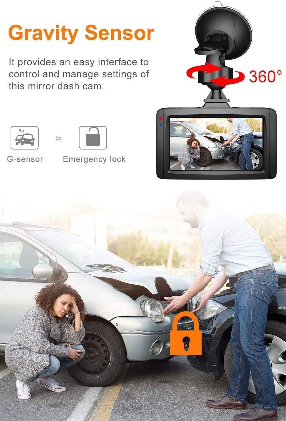 Claoner Dashcam 1080p Full Hd Auto Kamera Dvr Elektronik