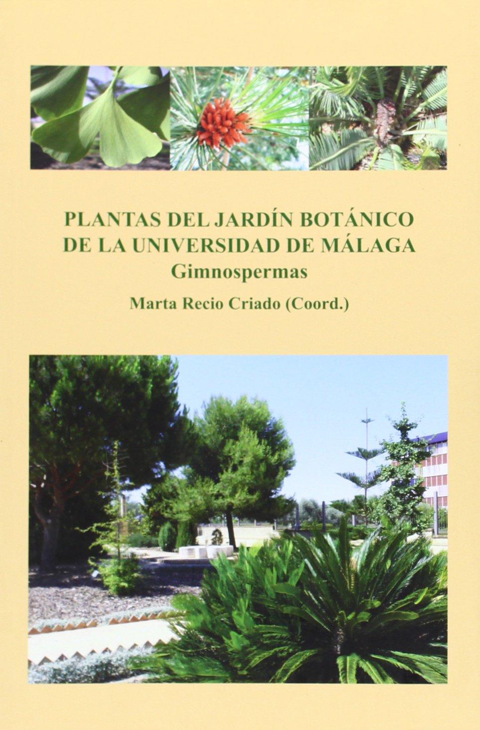 Plantas del Jardín Botánico de la Universidad de Málaga: Gimnospermas: 4 Conocer Málaga: Amazon.es: Marí Beffa, Manuel, Recio Criado, Marta: Libros