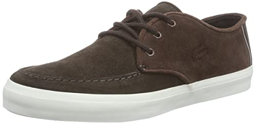 33bd88f94 Lacoste Sevrin 116 Mens Shoes Dark Brown - 8 UK  Amazon.ca  Shoes ...