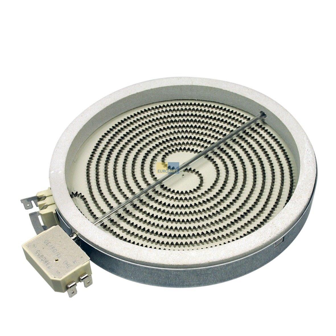 Inyección Radiador de calefacción Zona vitrocerámica 180 mmØ ...