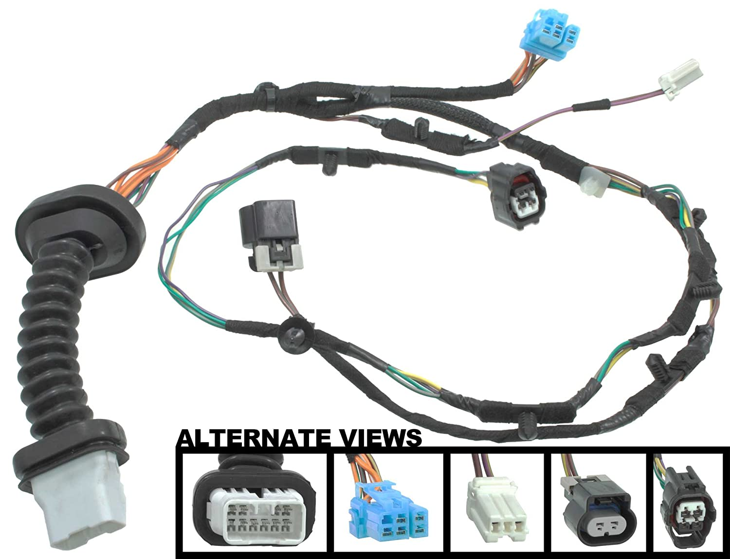 71fJrC9anCL._SL1500_ amazon com apdty 756617 power door lock wiring pigtail connector door wiring harness at n-0.co