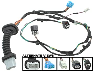 amazon com apdty 756617 power door lock wiring pigtail connector rh amazon com Tractor-Trailer Pigtail Wiring Diagram Grommet Light Pigtail Wiring Diagram