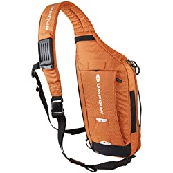This best fly fishing sling pack image shows the Umpqua Switch reversible sling pack.