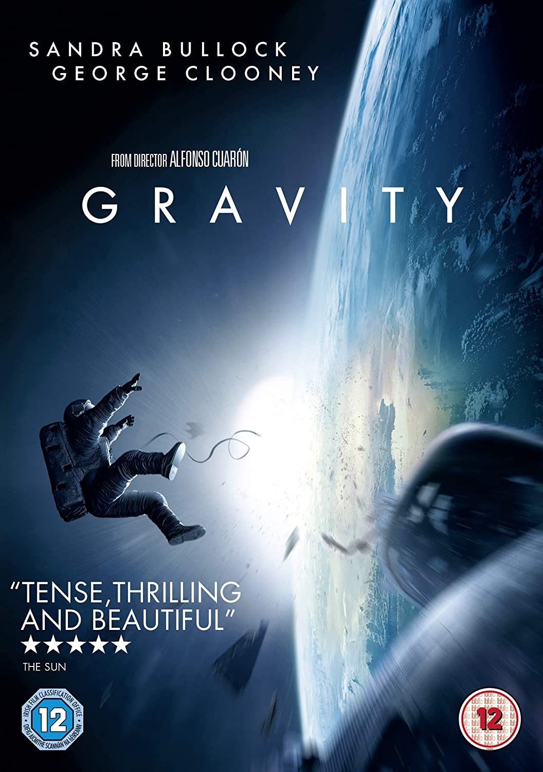 Gravity Dvd 2014 2013 Amazon Co Uk Sandra Bullock George Clooney Alfonso Cuaron Sandra Bullock George Clooney Dvd Blu Ray