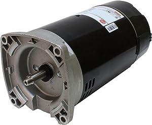 1 hp 2-Speed 56Y Frame 230V Square Flange Pool Motor US Electric Motor # ASB2982