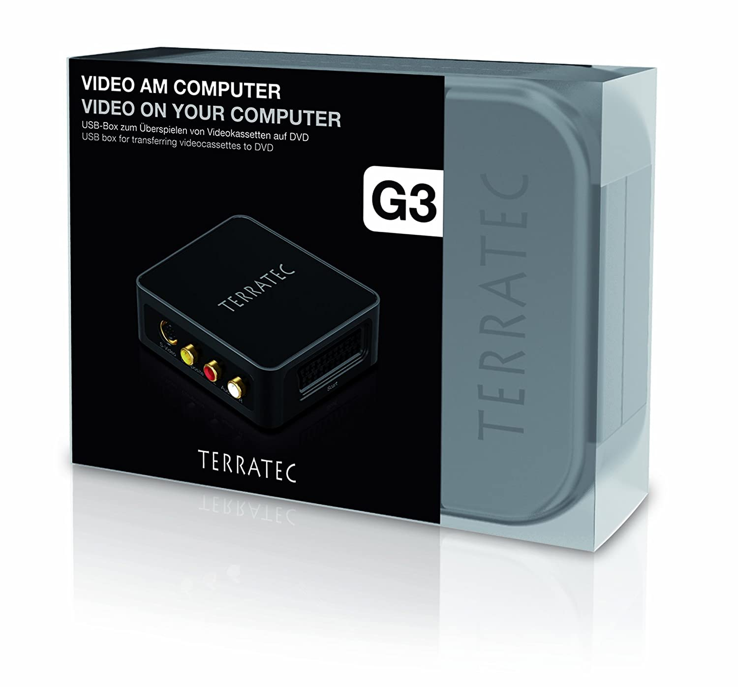 Amazon.com: Terratec G3 Digitalizador de vídeo con conector ...