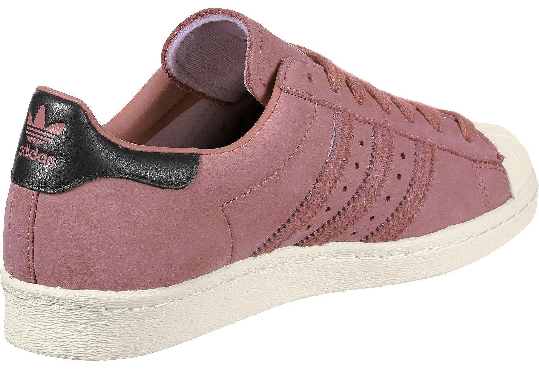 Adidas Pink Damen Superstar 80s W Fitnessschuhe, weiß Pink Adidas (Roscen/Negbas/Blacre 000) 7535b6