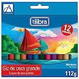 Giz de Cera 12 Cores Big Académie,Tilibra