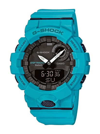 Casio Reloj Analógico-Digital para Hombre de Cuarzo con Correa en Resina GBA-800-2A2ER: Amazon.es: Relojes