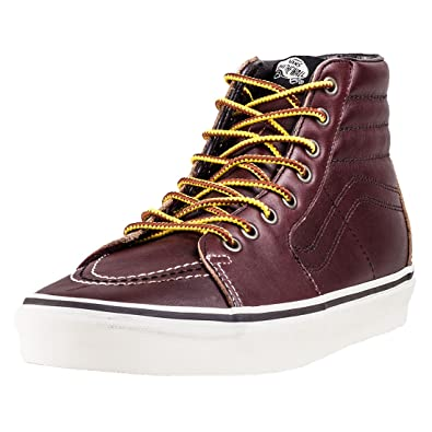 1564126a5abf37 Vans Sk8 Hi Ground Breaker Mens Trainers Chocolate Red - 7 UK