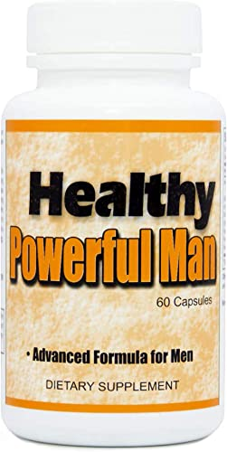 Healthy Powerful Man – Premium Semen Volumizer All-Natural Ejaculant Pills Male Fertility Enhancement Supplements with Assorted Effective Herbs Semen Volume Pills for Men – 60 Count 1