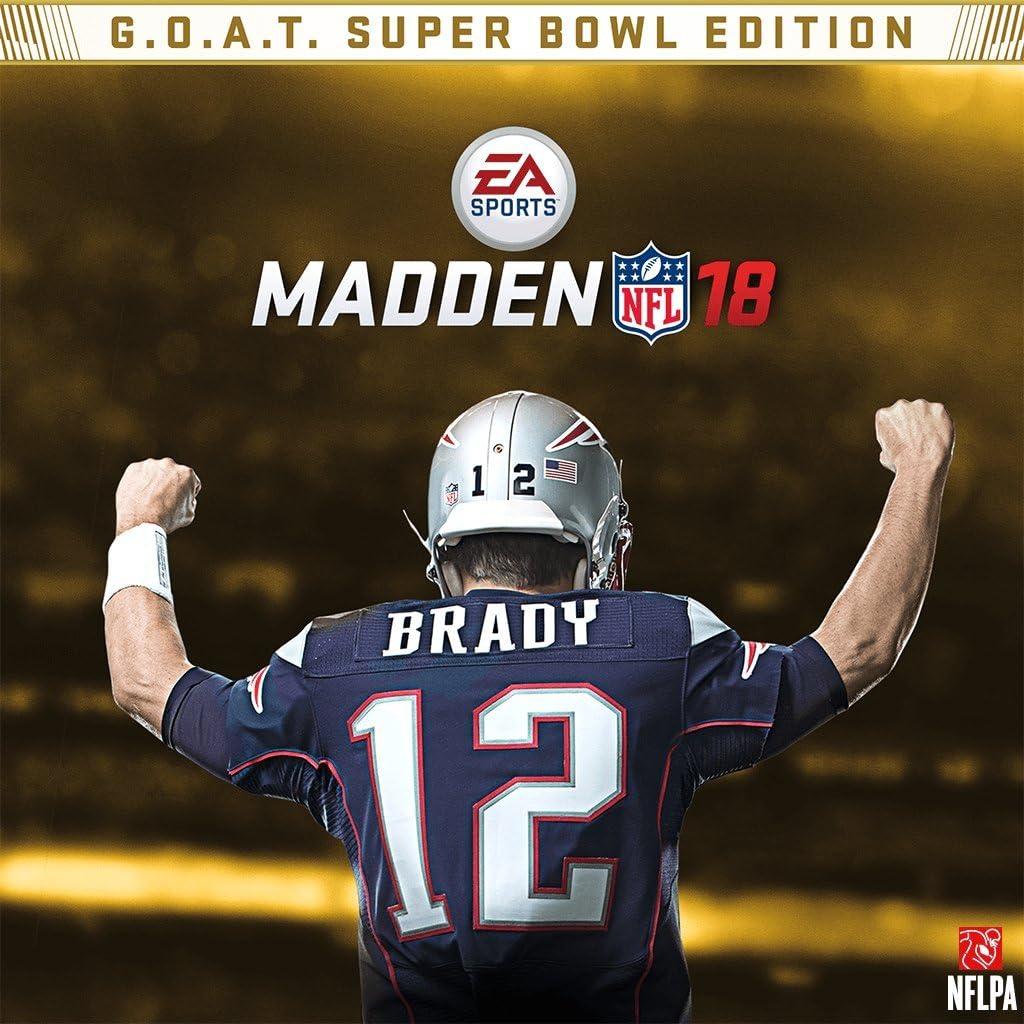 9ce4c03fd Amazon.com  Madden NFL 18 - Superbowl Edition - PS4  Digital Code   Video  Games