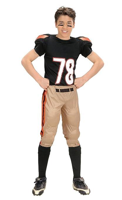 Amazon Com Boys American Football Player Child Costume