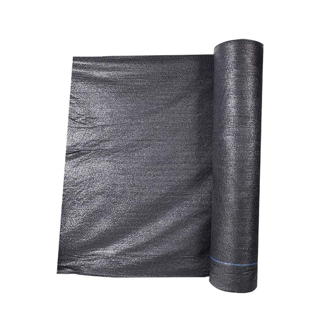 黒いポリエチレンの日除けの布の家の園芸の絶縁材の網の日焼け止めの網 - 密度4の針/ 6の針。 (色 : Density: 4 needles, サイズ さいず : 4×50m) B07RLRSWJF Density: 4 needles 4×50m