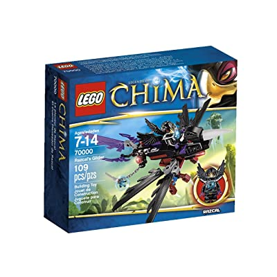 Lego, Legends of Chima Razcal's Glider (70000): Toys & Games