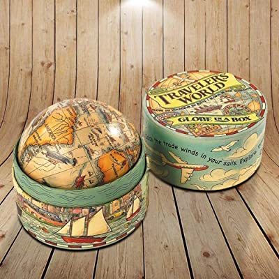 Authentic Models Traveler's World Globe in Box: Everything Else