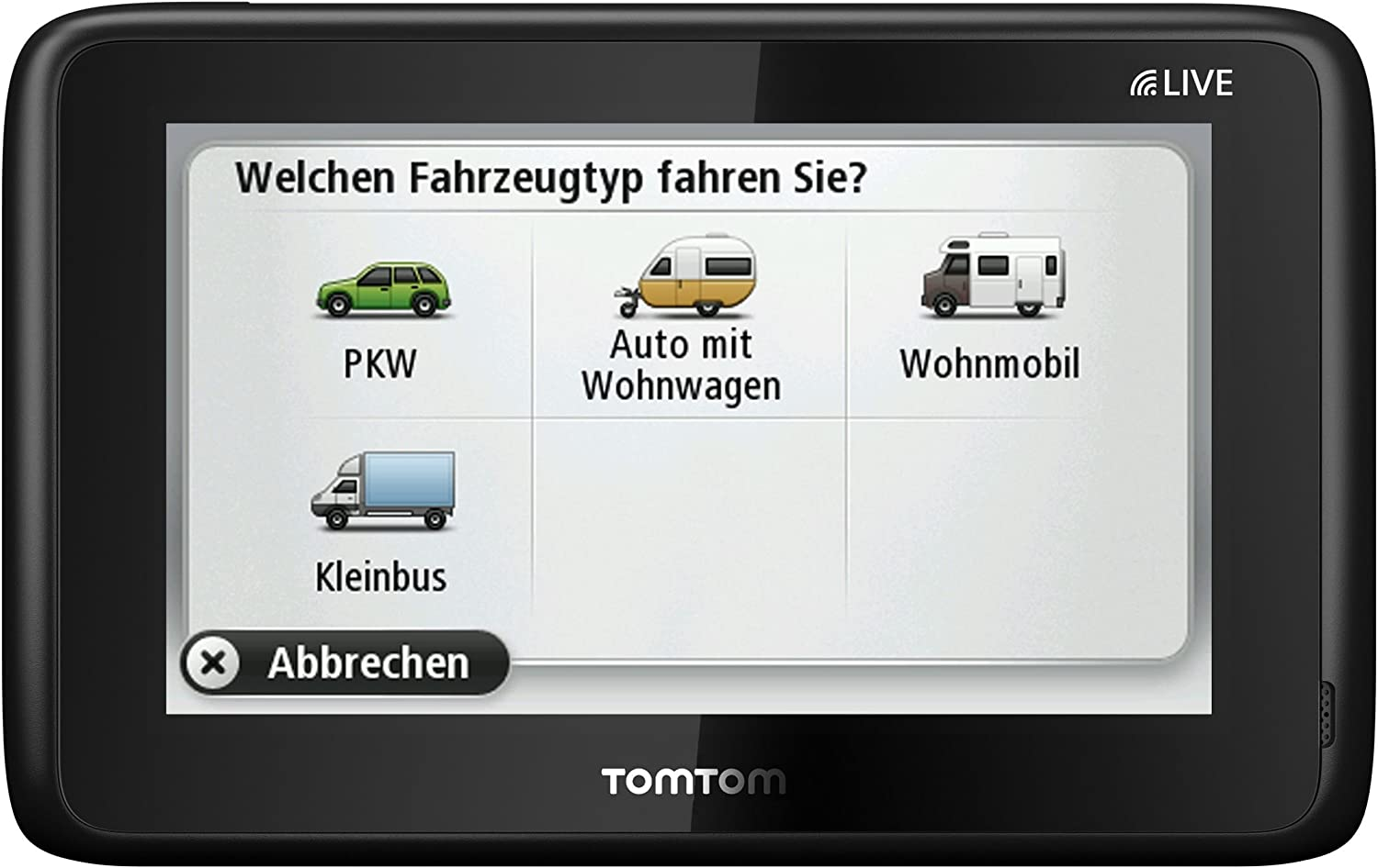TomTom GO LIVE Camper and Caravan (discountinued by manufacturer)
