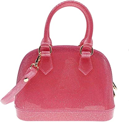 Small Dome Satchel Shiny Jelly Bag