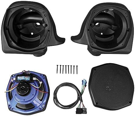 Amazon.com: J & M rokker Series XT inferior carenado Speaker ...