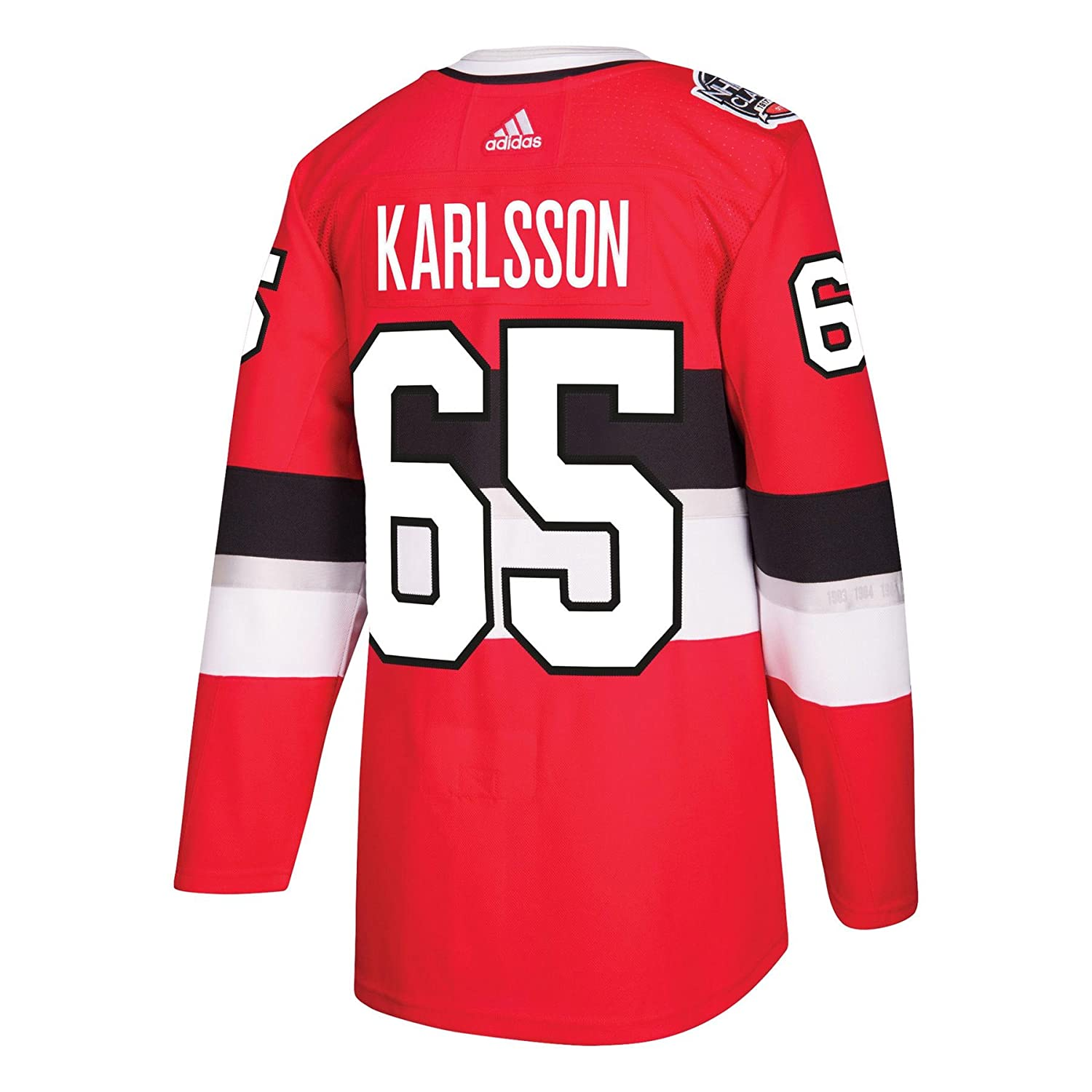 new concept 67254 01cb1 Amazon.com : adidas Ottawa Senators Erik Karlsson 100th Year ...