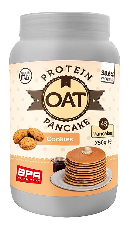 BPR NUTRITION OAT PROTEIN PANCAKE 750 GR Cookies: Amazon.es ...