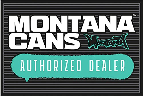 Montana Cans Spray Paint Graffiti Art Authorized Dealer Novelty Doormat