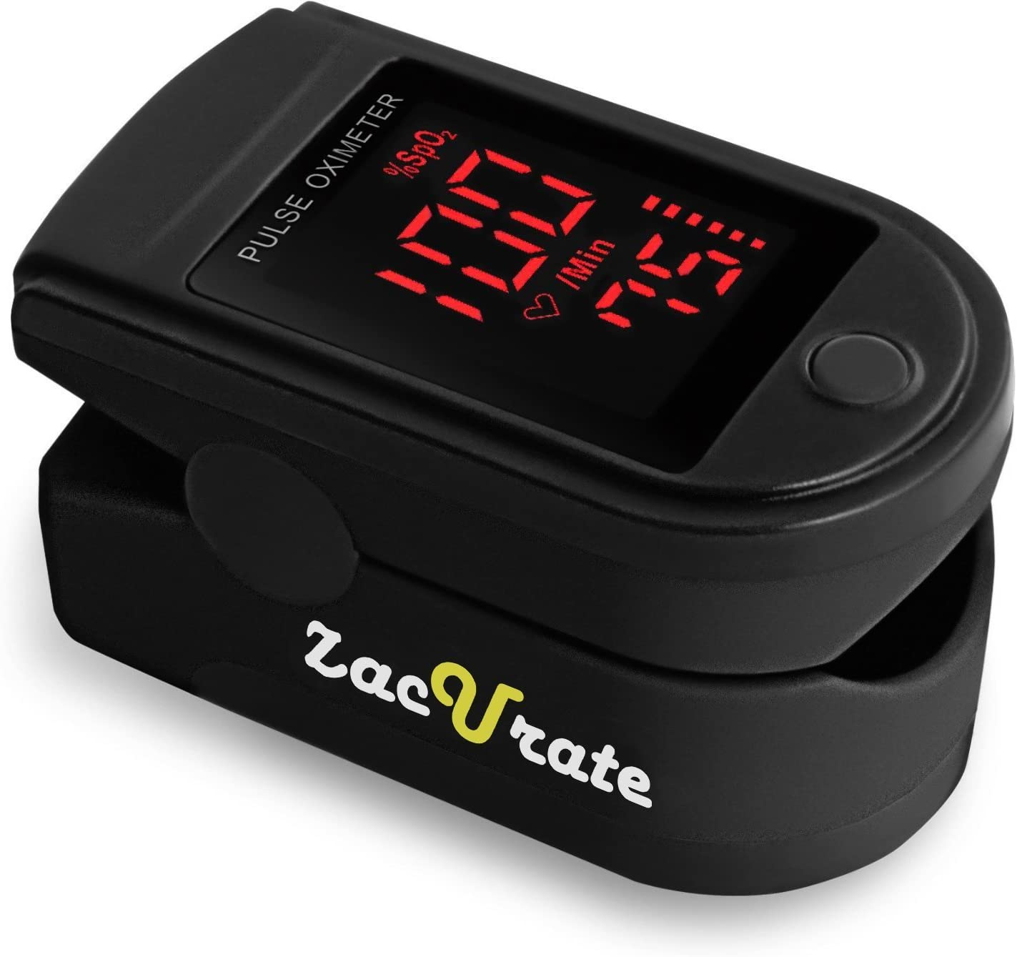 Zacurate Pulse Oximeter Blood Oxygen Saturation Monitor elderly gadget